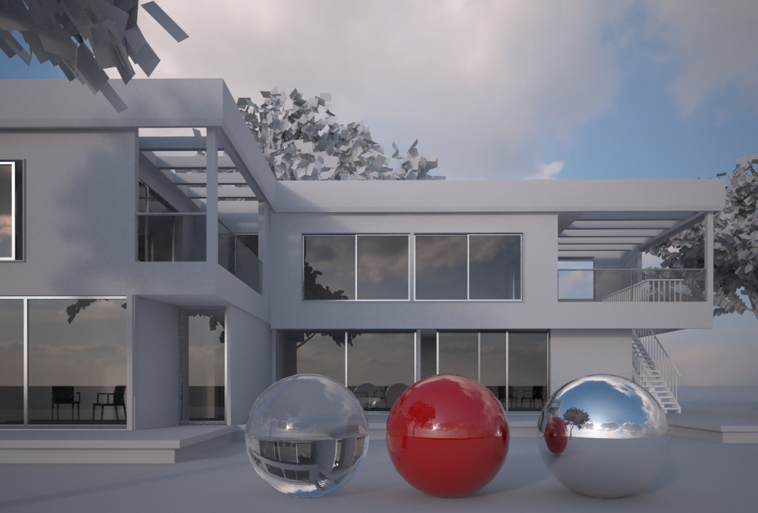 VRay HDRI [ Tutorial ] - How to use it into a Dome