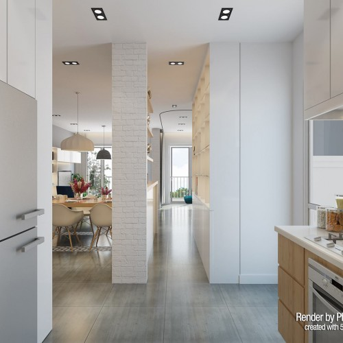 White Kitchen / Phong Tran