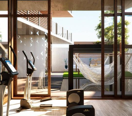 Luxury Private Pool Apt – Aram Landeros with 5SRW