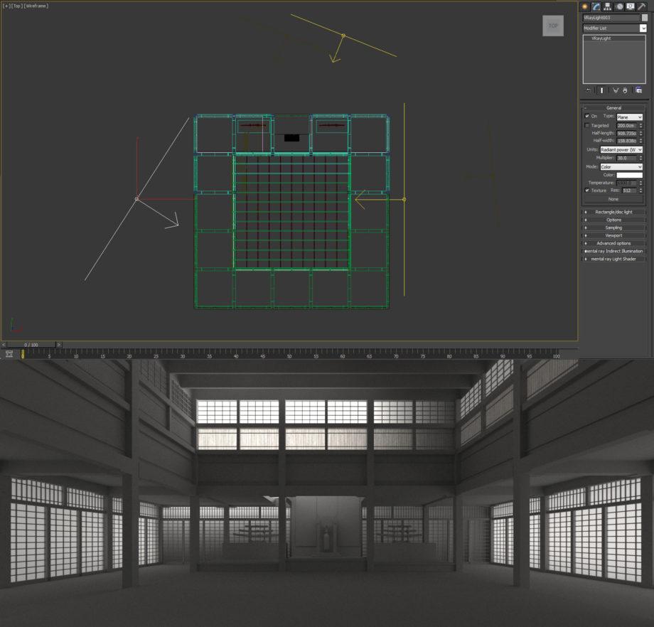 V-Ray Lighting & Materials | Tutorials - The Matrix Scene