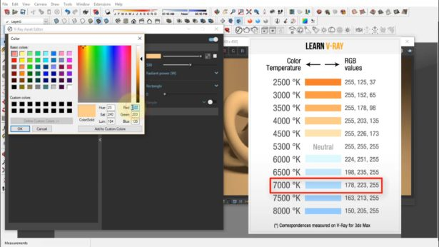 5SRW Full Course for SketchUp - Contents | Learn V-Ray