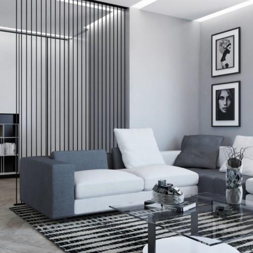 Black and White Apartment – Barbara Fumarola