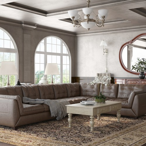 Classic Living Room – Heba Aboelenen