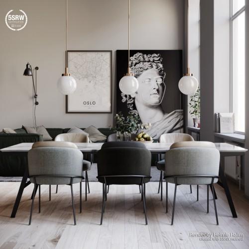 Oslo White Loft – Helmie Halim