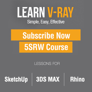 V-Ray Course - 5SRW Method | certification included