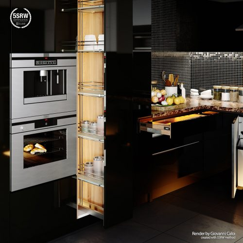 Black Kitchen – Giovanni Caloi