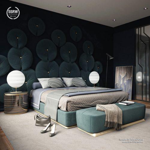 Emerald Hotel Bedroom – Arland Cana