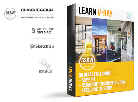 V-Ray Course | 5SRW approach