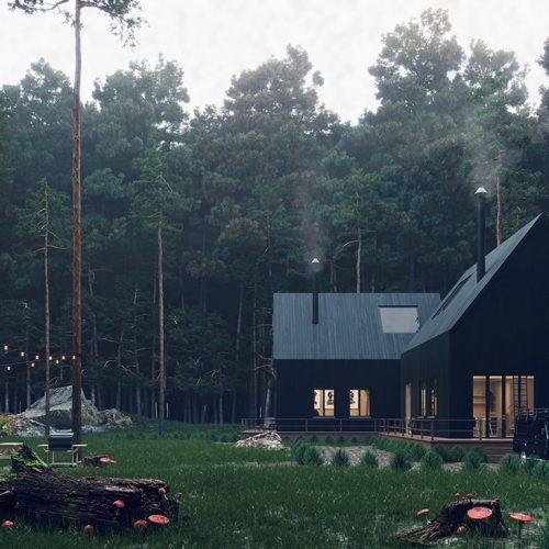 Villa in the Woods – Helmie Halim