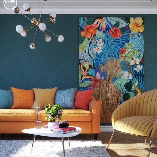 Colorful Room – Michele Moschella