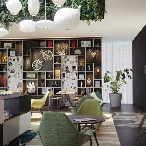 CitizenM Creative Hotel Lobby – Mattijs de Bruin