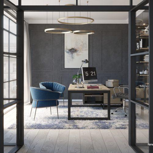 Elegant Italian Office – Alessia Damiano
