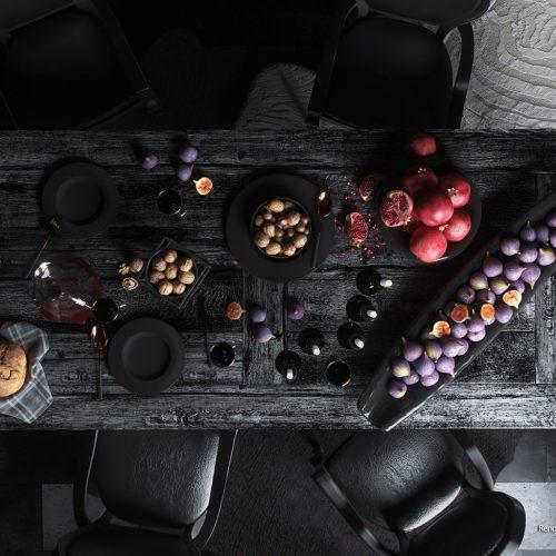 Mysterious Dining Room- Sharon Funaro