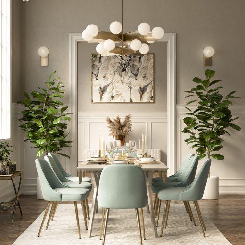 Elegant Dining Room – Palmira Romo
