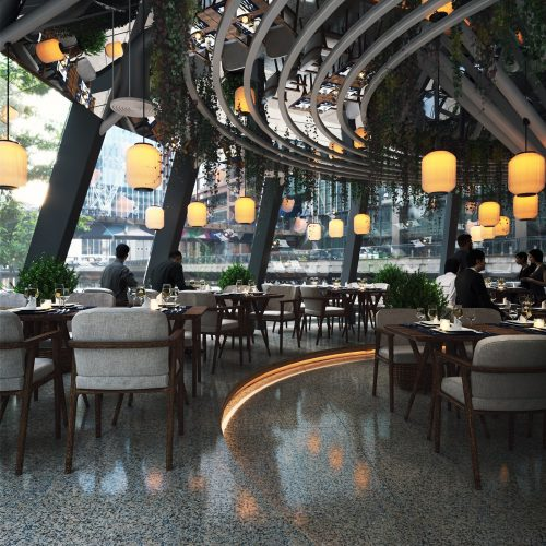 Elegant Restaurant – Deryan Roque