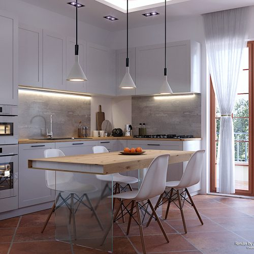 White Kitchen – Antonio Santoro