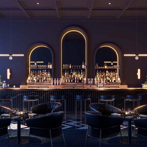 Blue Sparkling Bar – Martin Darzacq