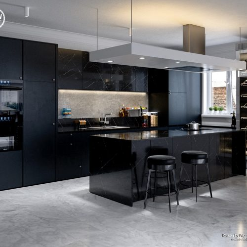 Black Marble Kitchen – Wigner Vicente