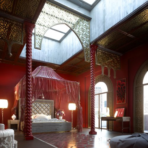 Red & Gold Room – Roberto Boga