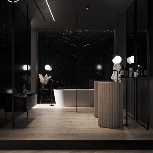 Dark Bathroom – Nicolò Cocchi