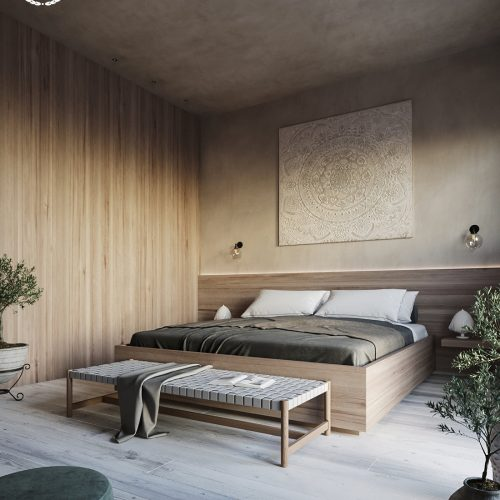 Mediterranean Bedroom – Gianluca Muti