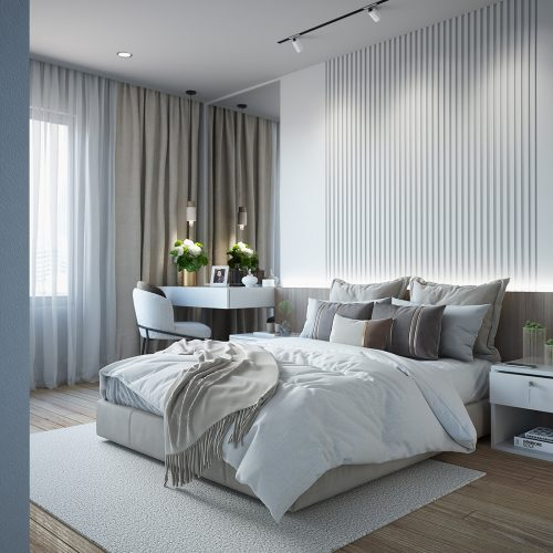 White & Bright Bedroom – Rayniel Vergara