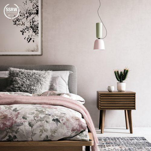 Spring Tones Bedroom – Stefanie Chapman