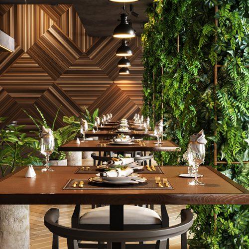 Luxury Garden Restaurant – Vishal Ghatge
